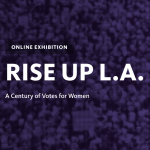 The RISE UP L.A. Online Exhibition Cover